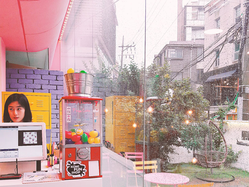 Star Travel●首爾好好玩►VANT36.5 & MENON。弘大粉紅色咖啡廳 @。絲達選物。Star Life Select