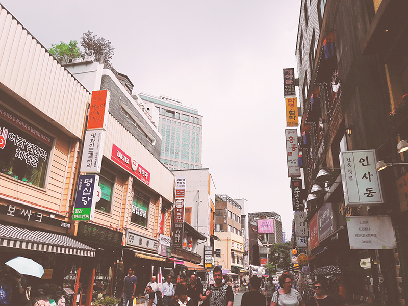 Star Travel●首爾好好玩►到仁寺洞,感受首爾新、舊交融的風情 @。絲達選物。Star Life Select