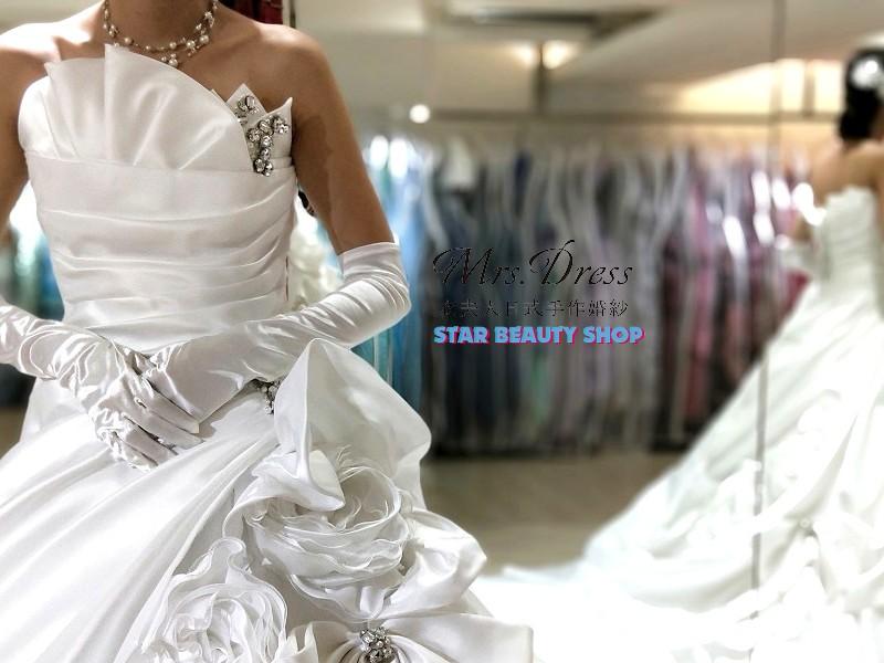 Star Beauty●衣夫人日式手作婚紗。完美修飾亞洲人身形,設計美的令人驚豔! @。絲達選物。Star Life Select